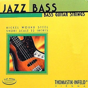 Thomastik-Infeld Bass Guitar Strings: Jazz Flat Wounds Nickel Flat Wound; Round Steel Core - Single G String